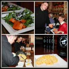 On January 22nd, Saratoga Olive Oil Co. hosted Chef James from Pasta Pane. He demonstrated four dishes: a kale, butternut squash & panchetta soup, an arugula salad with balsamic shallots almond crumble and ricotta salata cheese, a wild mushroom and sage olive oil risotto, and a citrus olive oil cake! @DZ Restaurants