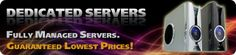 To enhance the consistency of your business and to find the most reliable solution from all kinds of problem, the cheap dedicated servers are the most effective solution.Visit here http://www.gigapros.com/portal/dedicated-servers