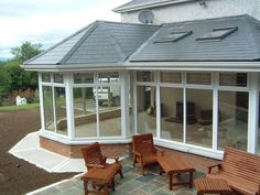 Bungalow Extensions, Garden Room Extensions, House Extensions, Conservatory Dining Room, Conservatory Design, House Extension Plans, House Extension Design, Extension Ideas, Shed Design