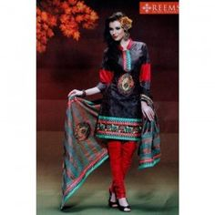 Multicolor Kurta Suruwal Piece