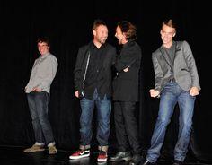 Stone Gossard, Jeff Ament, Eddie Vedder, and Matt Cameron at event of Pearl Jam Twenty