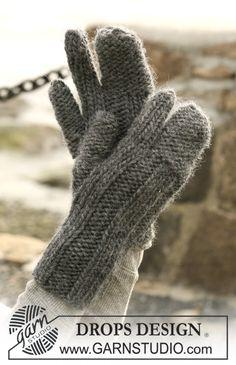 """DROPS vantar med pekfinger i """"Eskimo"""". ~ DROPS Design"""