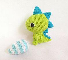 Cute T Rex Dinosaur. Cute Elasmosaurus Dinosaur. #amigurumi #crochet #handmade…