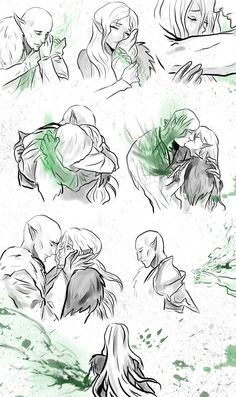 Trespasser spoilers! Solas - the end by Purple-Meow on DeviantArt | Solas and Lavellan romance, Solavellan, Dragon Age: Inquisition