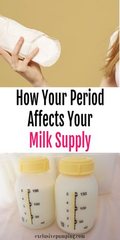 How your period affects breastmilk supply! Do you notice a decrease in supply wh. Breastfeeding Positions, Breastfeeding Problems, Breastfeeding Support, Breastfeeding And Pumping, Low Milk Supply, Lactation Recipes, Lactation Cookies, Lactation Foods, Period