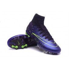 buy popular bbd44 b19db Nike Mercurial Superfly AG-R Squadron Modrý Černá Volt levné fotbalové boty  Cheap Football Shoes