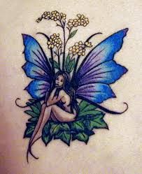 Stupendous 20 Fairy Tattoos Suluboya Doevmeler Pinterest Fairies Tattoo Hairstyles For Men Maxibearus