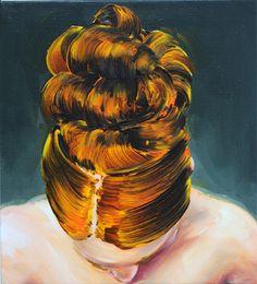 Cornelius Völker // Dutt 2013, Öl auf Leinwand