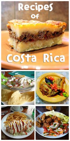 Recipes of Costa Rican dishes - black beans, empanadas and more
