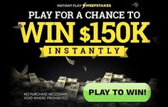Play for a chance to Instantly Win $150,000! jQuery(document).ready(function($) { $.post('http://www.freebiesdip.com/wp-admin/admin-ajax.php', {action: 'wpt_view_count', id: '7043'}); });