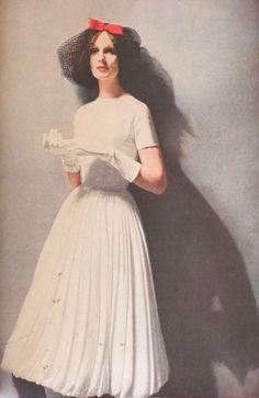 Lillian Bassman, Harper's Bazaar October 1956