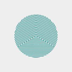 #JA15-100  A new geometric design every day.