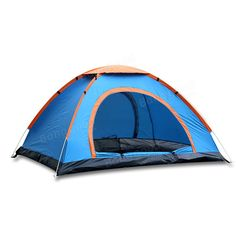 Pop Up C&ing Tent by TSWA  Automatic u0026 Instant Setup Dome Waterproof Backpacking Tents for Person Portable Hiking Pack Shelters  sc 1 st  Pinterest & GAZELLE OUTDOOR 4-Person Instant Pop-Up Tent - Automatic Setup in ...