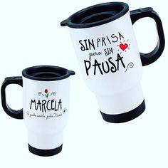Mug termico Blanco para mantener tu cafe o te a la temperatura perfecta! Personaliza como tu quieras! $8290  Frases sin personalizar $7190