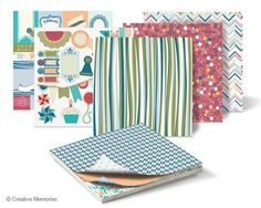 Happy Birthday 12x12 Stack Pack - can use to make cards or in your scrapbooks!