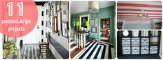 11 striped decorating projects