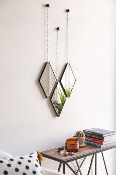 Interior Design Stories: Umbra Dima Mirror Set - Urban Outfitters