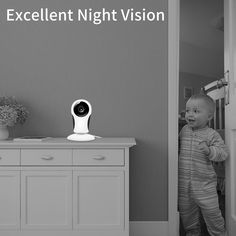 This is a Must Have Security Device for Your Home or Business - ANBAHOME IP Camera, WiFi Camera Wireless Security Cam for Home Surveillance Pet and Baby Monitor with Night Vision Two Way Audio Support SD Card Home Monitor, Baby Monitor, Phone Gadgets, Wireless Security, Security Surveillance, Home Security Systems, Ip Camera, Sd Card, Night Vision