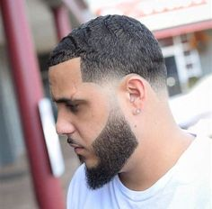 Short waves and taper fade. Haircut by barber Jose Crespo. Short waves and taper fade. Haircut by barber Jose Crespo. New Mens Haircuts, Mens Hairstyles Fade, Cool Hairstyles For Men, Best Short Haircuts, Cool Haircuts, Hairstyles Haircuts, Straight Hairstyles, 2018 Haircuts, Medium Hair Waves