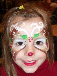 #christmasfacepaintdesign #facepainting #amazingfacepaintingbylinda #facepaintingjacksonvillefl