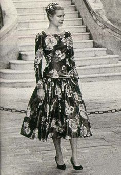 Grace Kelly - First time at the Palace, 1955...less than a year later she would be the Princess of Monaco.