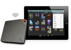 LaCie-FUEL LaCie Fuel iPad Portable Storage Device Doubles Capacity. The 2TB Fuel will ship in April for $249.99