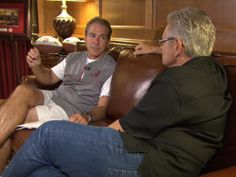60 Minutes, behind the scenes with Alabama's Nick Saban