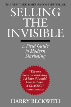 SELLING THE INVISIBLE is a succinct and often entertaining look at the unique characteristics of services and their prospects, and how any service, from a home-based consultancy to a multinational bro