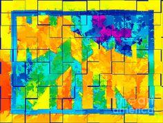 "Staci and Bill McLauchlan Digital Fiber Art - ""Puzzled"""