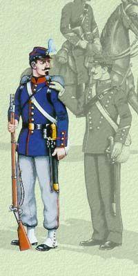 Οι στολές του Ελληνικού Στρατού κατά περιόδους   Army gr Army Uniform, Military History, 19th Century, Battle, Empire, Soldiers, Ottoman, French, Poster