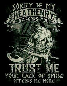 Born Again Heathen!