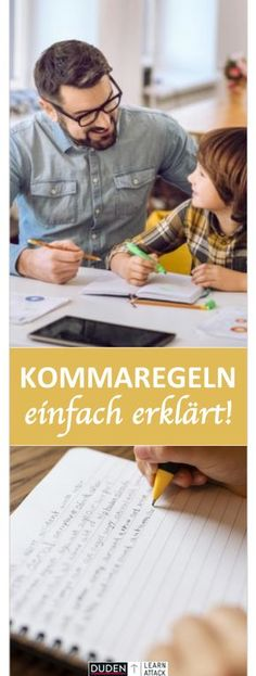 Checking the comma setting simply explained - master now! - Correct comma setting: Many pupils have difficulty with the comma rules. The Effective Pictures We - German Grammar, German Language, K Om, School Application, Writing A Business Plan, Susa, Continuing Education, Business School, Primary School