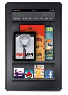 Kindle Fire - this comes out four days before my birthday. I'm thinking it would make an EXCELLENT gift! ;-)