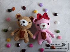 My Cute Animal Series - Bear  My first post in 2017. I am so excited to share this pattern to you. I have a plan to make some animals modifi...