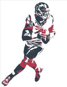 Deshaun Watson HOUSTON TEXANS PIXEL ART 2 Art Print by Joe Hamilton. Houston Texans Football, Football Art, Football Season, Football Players, Around The Nfl, Joe Hamilton, Deshaun Watson, Sports Pics, Record Art