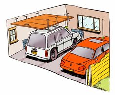 Once you've cleared out your garage and have room to park inside, here's how to make sure that your cars will always be a good fit:
