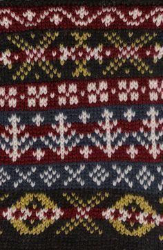 Fair-Isle-patterns Fair Isle Knitting Patterns, Knitting Charts, Knitting Stitches, Hand Knitting, Loom Knitting, Motif Fair Isle, Fair Isle Chart, Norwegian Knitting, Knitting Accessories