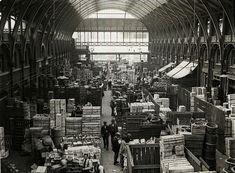 Covent Garden Market, 1925
