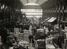 Covent Garden Market, early 1900s