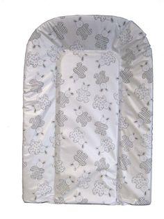 Bambisol CLP - Colchón cambiador, PVC sin ftalatos y relleno de espuma, diseño de conejos