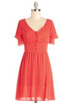 Swing Dance-a-Thon Dress |  Definitely would pair with bike shorts for swing dancing.  Flips!
