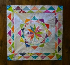 Celestial Star Block  .... pattern by Diane, from blank pages