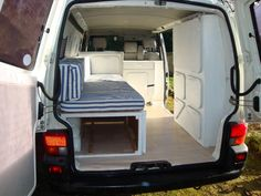 """Check out our website for more details on """"best minivan It is actually an excellent area to learn more. T4 Camper Interior Ideas, Van Interior, Camper Ideas, Mini Camper, Vw Camper, Minivan, Vw T5, Kangoo Camper, Kombi Home"""