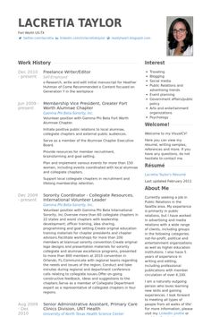 freelance writereditor resume example - Freelance Writer Resume