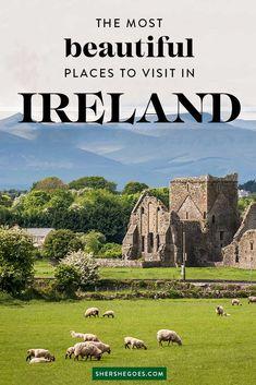Add these beautiful Irish cities to your Ireland Bucket List! Ireland Places To Visit, Beautiful Places To Visit, Cool Places To Visit, Places To Go, Amazing Places, Scotland Travel, Ireland Travel, Driving In Ireland, Southern Ireland