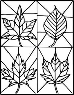Make it easy crafts: Kid's Craft- stained glass leaves free printable crafts for kids for teens to make ideas crafts crafts Autumn Crafts, Fall Crafts For Kids, Kids Crafts, Easy Crafts, Art For Kids, Arts And Crafts, Kids Diy, Decor Crafts, Art Project For Kids