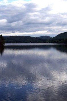 Enjoy the crystal clear water at Lake Algonquin in Wells, New York.
