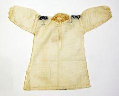 Shirt. Date: 1700–1943. Culture: Portuguese. Medium: wool, cotton
