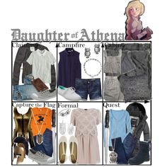 Daughter of Athena ~ Wardrobe by liesle on Polyvore featuring mode, River Island, Uniqlo, J.Crew, Abercrombie & Fitch, Gap, A.P.C. Madras, 7 For All Mankind, See by Chloé and Gabor