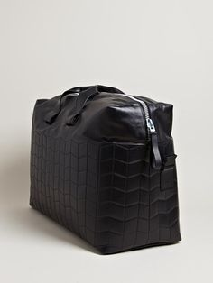 Lanvin // Paper Effect Weekend Bag